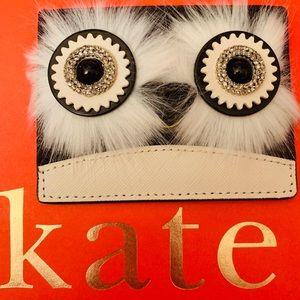 kate spade Accessories - KATE SPADE DASHING BEAUTY BLACK PENGUIN CARDHOLDER